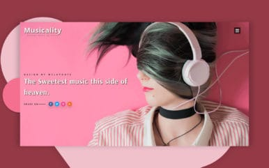 Musicality an Entertainment Category Bootstrap Responsive Web Template