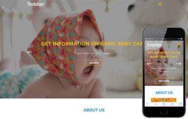 Toddler an Education Category Bootstrap Responsive Web Template