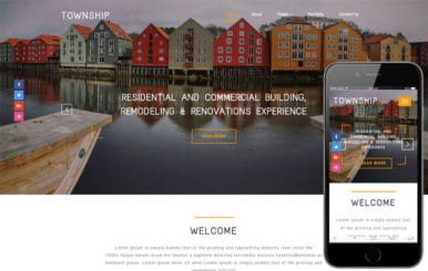 Township a Real Estate Category Bootstrap Responsive Web Template