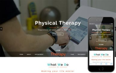 Therapy a Medical Category Bootstrap Responsive Web Template