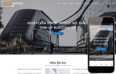 Build Estate a Real Estate Category Bootstrap Responsive Web Template