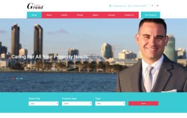 Grand Villa a Real Estate Category Bootstrap Responsive Web Template