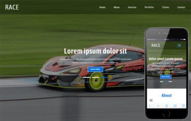 Race a Sports Category Flat Bootstrap Responsive Web Template
