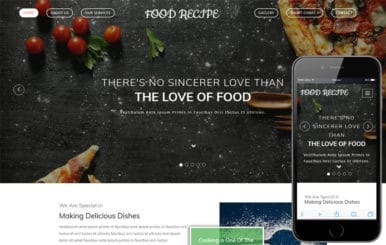 Food Recipe a Hotel Category Bootstrap Responsive Web Template