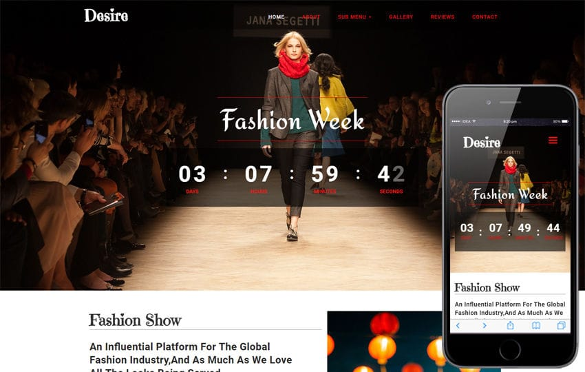 Desire Fashion Category Bootstrap Responsive Web Template