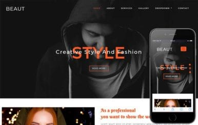 Beaut Fashion Category Bootstrap Responsive Web Template