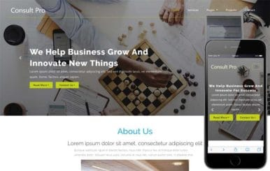 Consult Pro Corporate Category Bootstrap Responsive Web Template