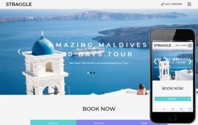 Straggle Travel Category Bootstrap Responsive Web Template