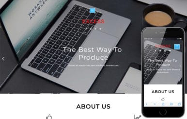 Excess Corporate Category Flat Bootstrap Responsive Web Template