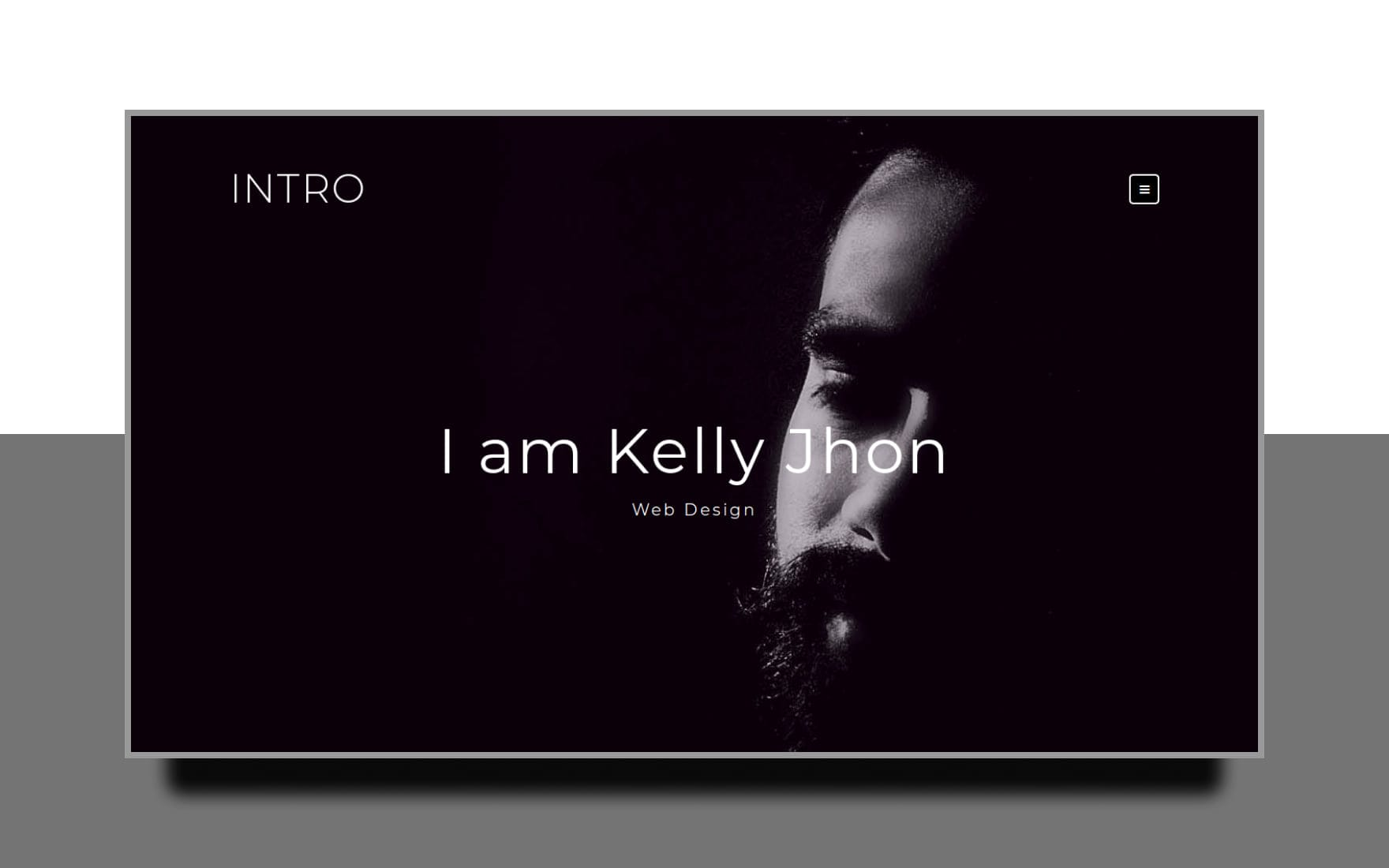 Intro Personal Category Bootstrap Responsive Web Template