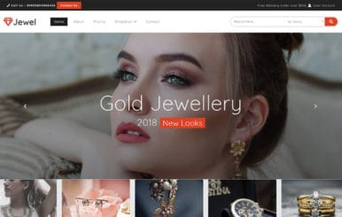 Jewel a Flat Bootstrap Responsive Web Template