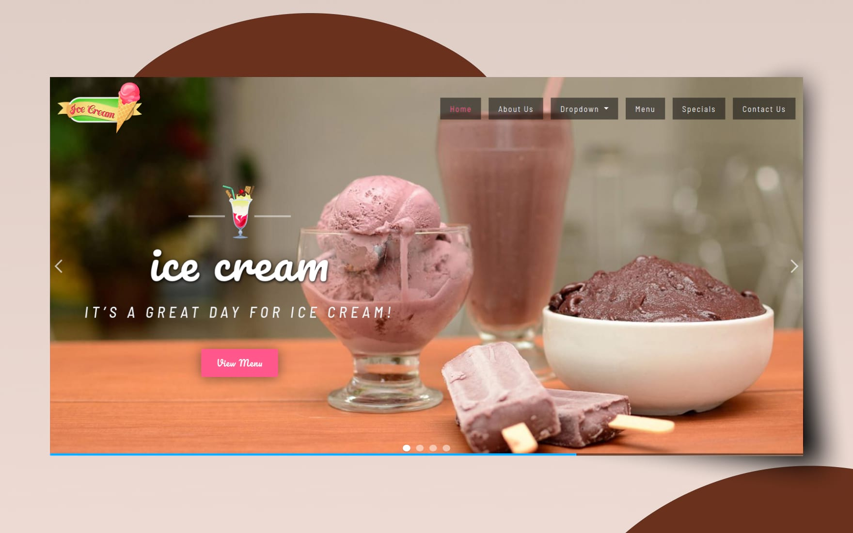 Ice Cream Hotel Category Bootstrap Responsive Web Template