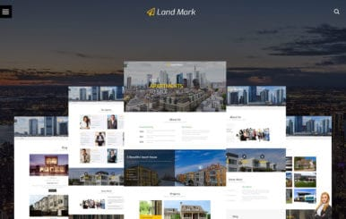 Land Mark – Real Estate Bootstrap Responsive Web Template