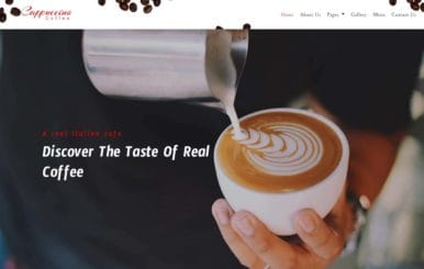 Cappuccino Coffee – Restaurants Category Bootstrap Responsive Web Template