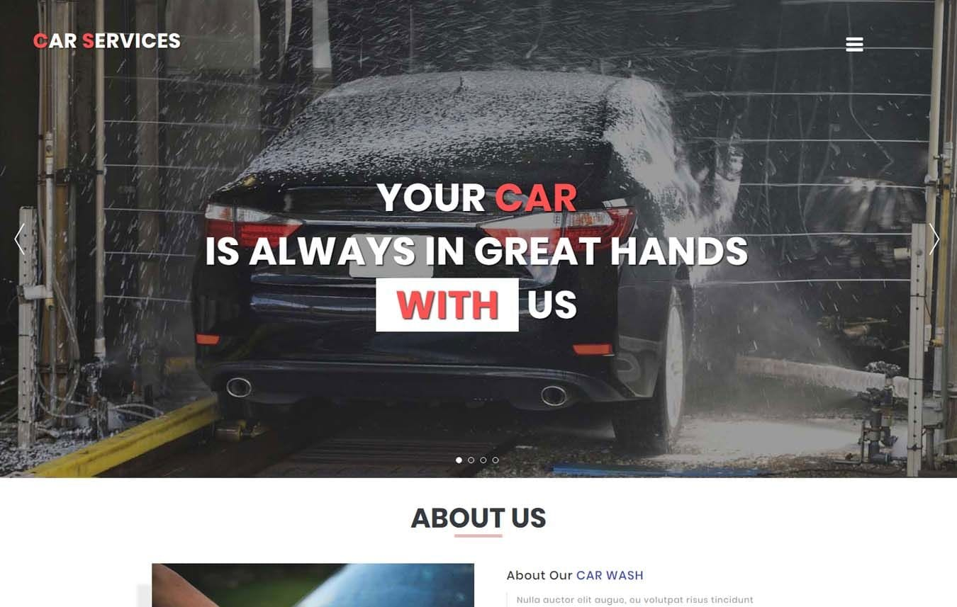 Car Services – Auto Mobile Category Bootstrap Responsive Web Template