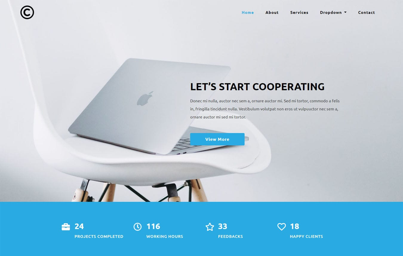 Pervasive Corporate Category Bootstrap Responsive Web Template. Mobile website template Free