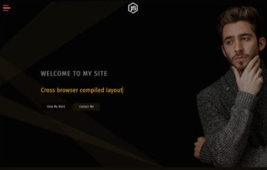 Strive a Personal Category Bootstrap Responsive Web Template