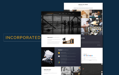 Incorporated a Corporate Category Flat Bootstrap Responsive Web Template