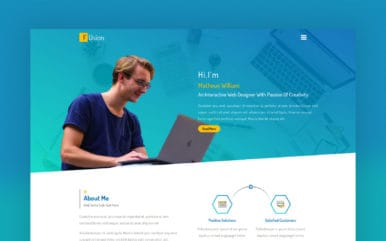 Fusion a Personal Category Flat Bootstrap Responsive Web Template