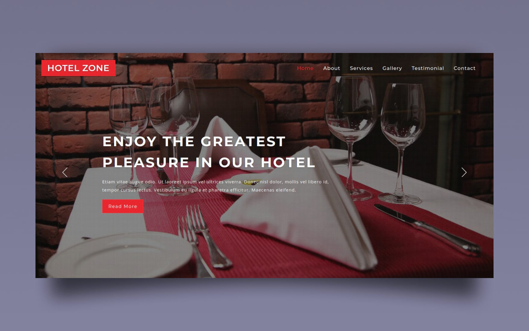 Hotel Zone a Hotel and Restaurant Category Bootstrap Responsive Web Template.