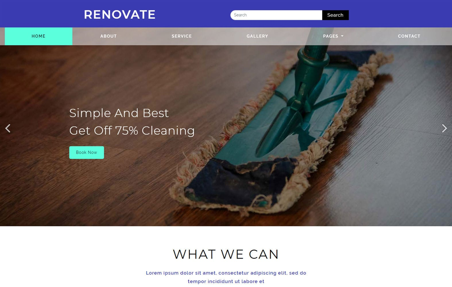 Renovate a Service Category Flat Bootstrap Responsive Web Template Mobile website template Free