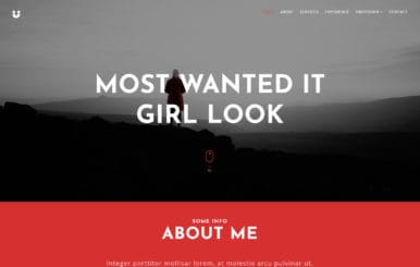 Precise Personal Bootstrap Responsive Web Template