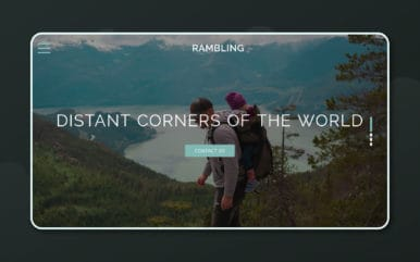 Rambling Travel Category Bootstrap Responsive Web Template