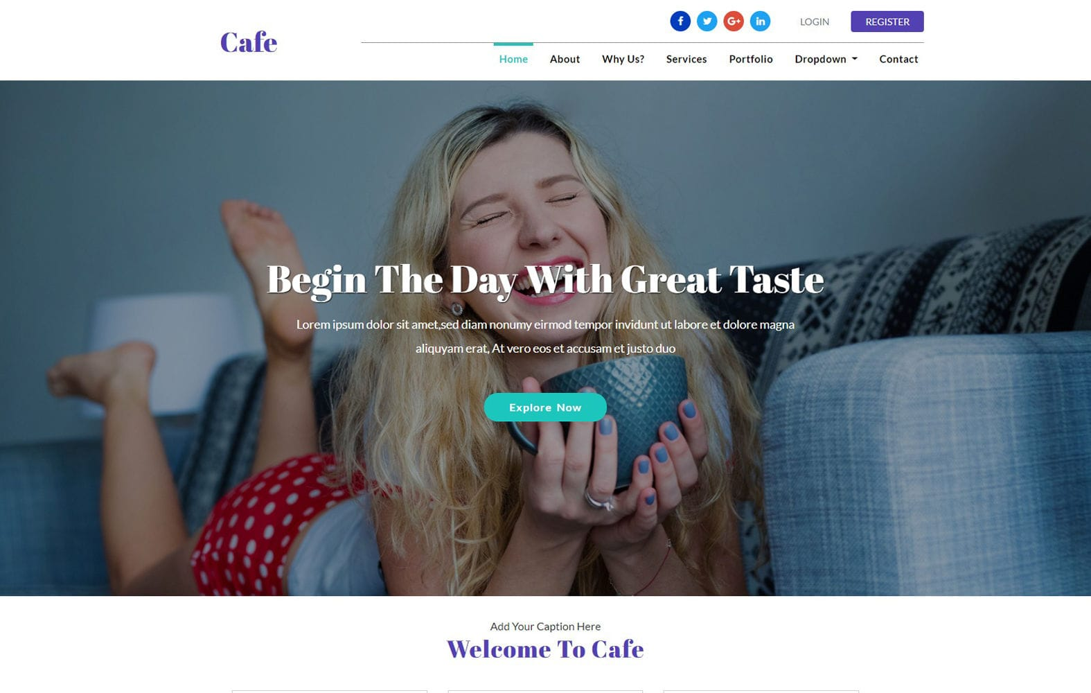 Cafe a Restaurant Category Flat Bootstrap Responsive Web Template Mobile website template Free