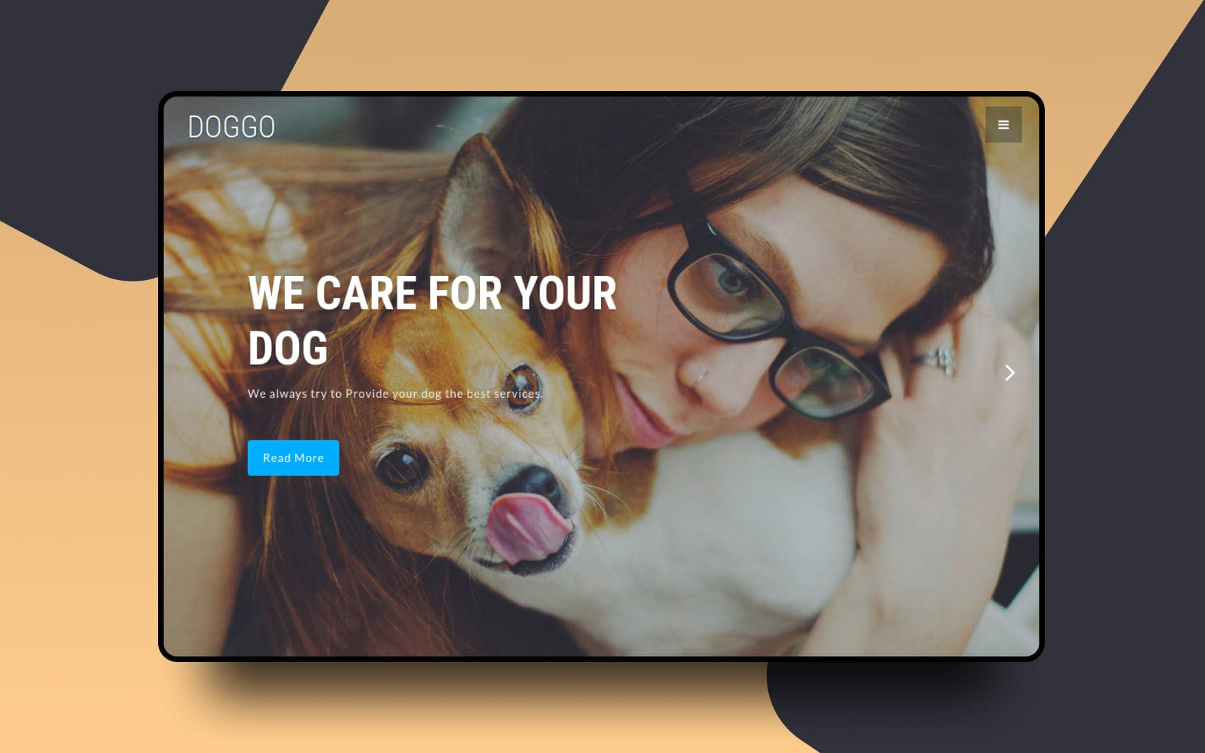 Doggo – Animals & Pets Category Bootstrap Responsive Web Template