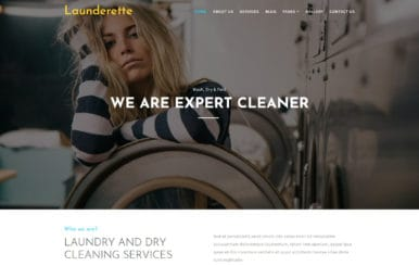 Launderette –  Laundry Category Bootstrap Responsive Web Template