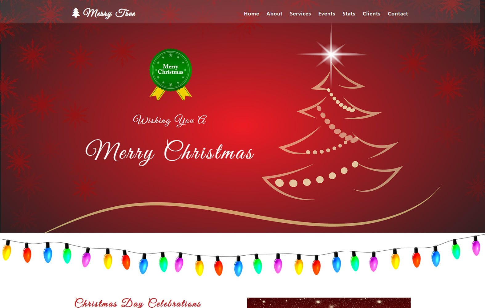 Merry Tree an Entertainment Category Bootstrap Responsive Web Template Mobile website template Free