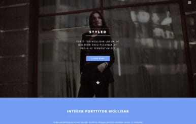 Styled a Fashion Category Bootstrap Responsive Web Template