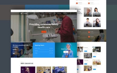 Be Clinic a Medical Category Bootstrap Responsive Web Template