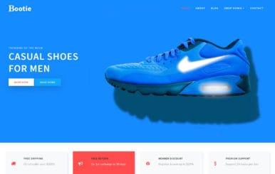Bootie E commerce Bootstrap Responsive Web Template