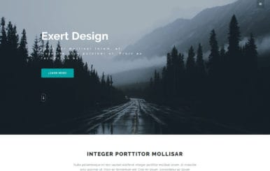 Exert Design Multi Purpose Category Bootstrap Responsive web Template