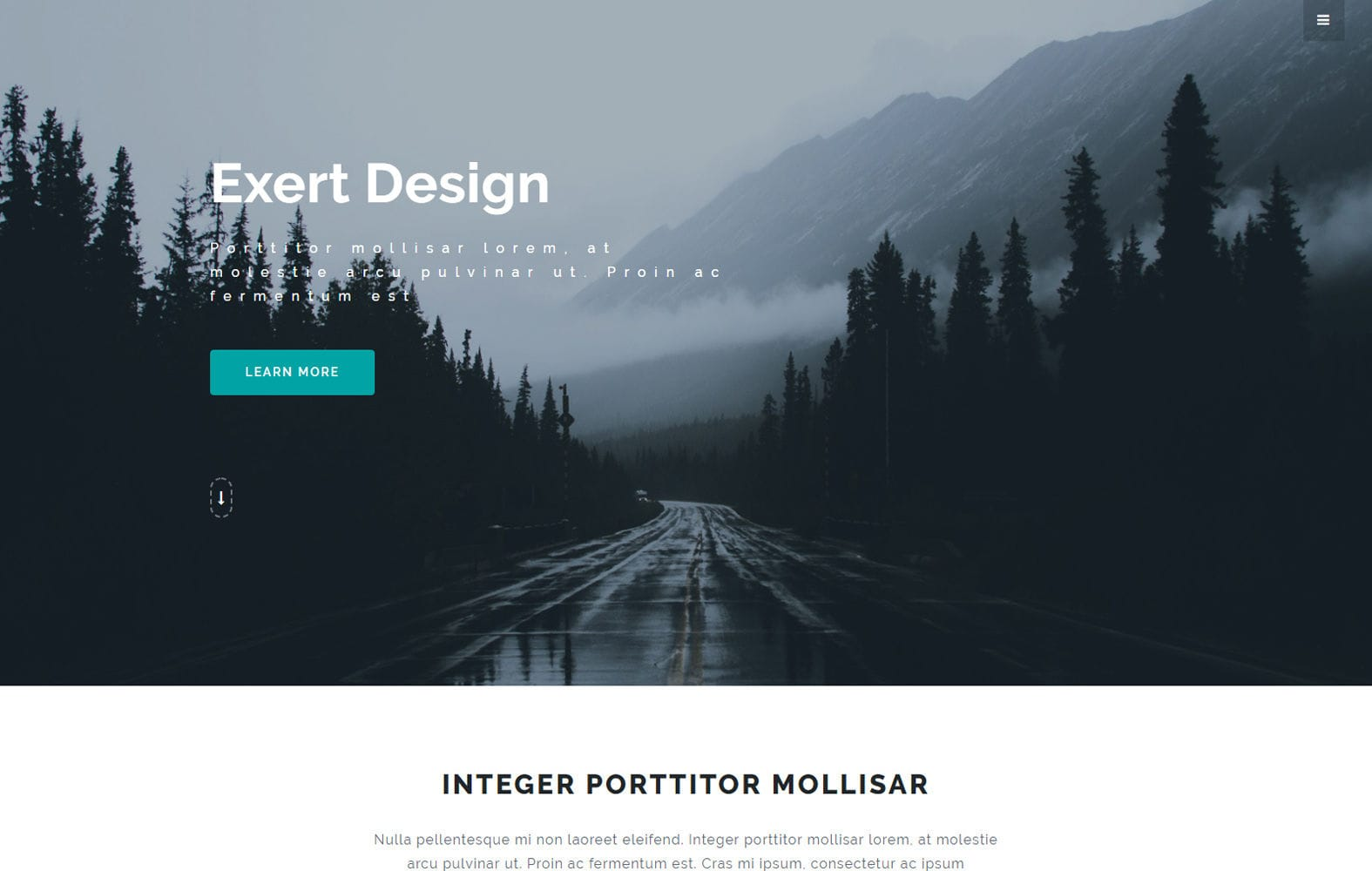 Exert Design Multi Purpose Category Bootstrap Responsive web Template Mobile website template Free