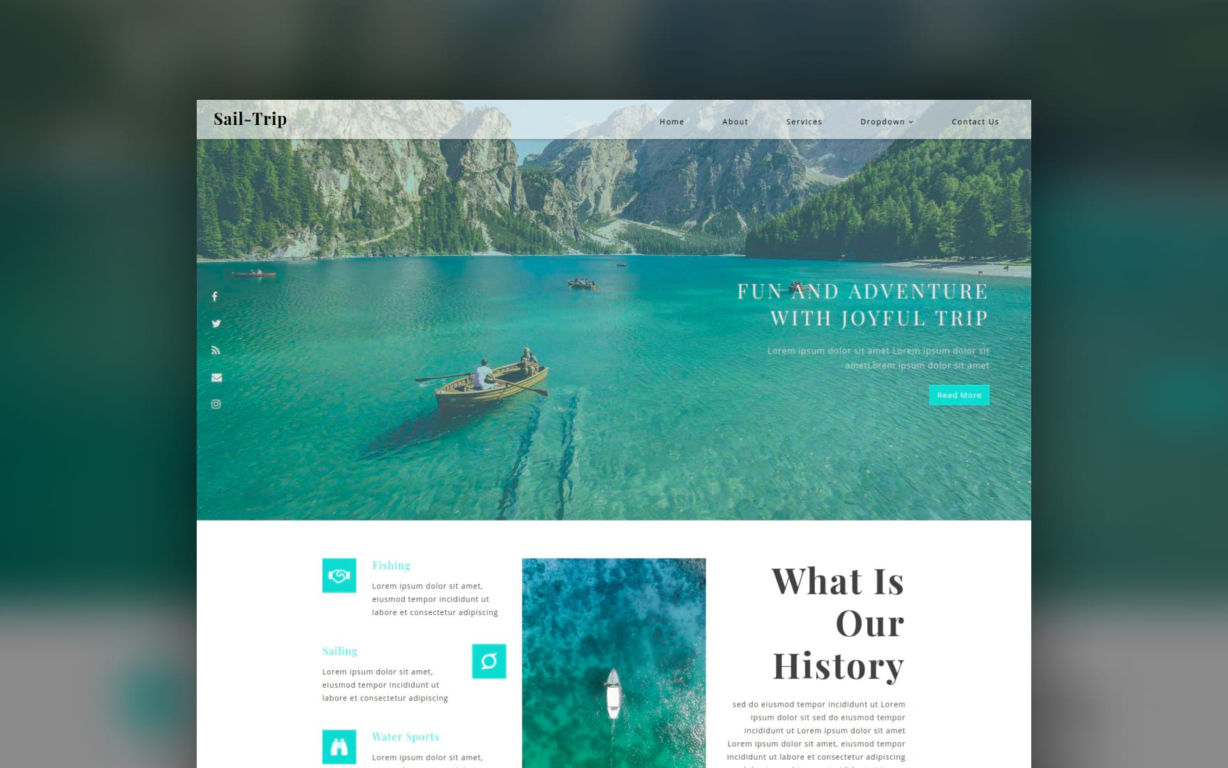 Sail Trip a Travel Category Bootstrap Responsive Web Template