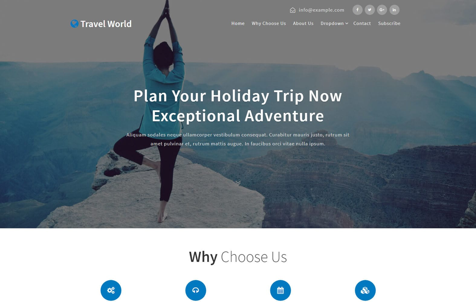 Travel World a Travel Category Bootstrap Responsive Web Template