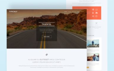 Typically a Travel Category Bootstrap Responsive Web Template