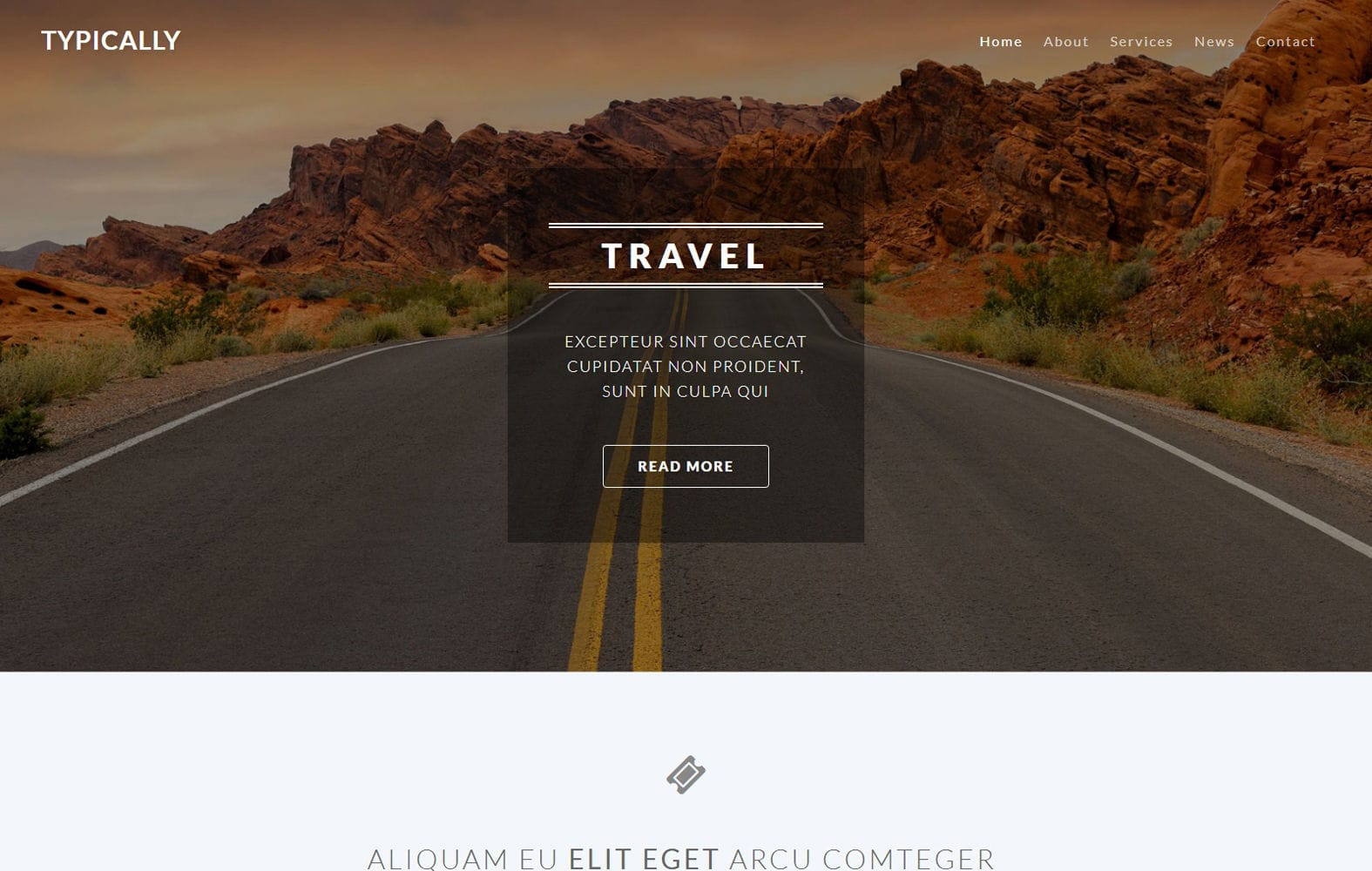 Typically a Travel Category Bootstrap Responsive Web Template Mobile website template Free