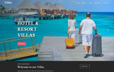 Villas – Hotel Category Flat Bootstrap Responsive Web Template