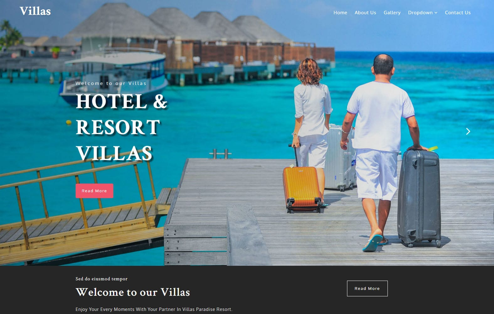 Villas – Hotel Category Flat Bootstrap Responsive Web Template Mobile website template Free
