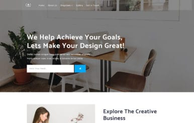 Achieve a Flat Bootstrap Responsive Web Template