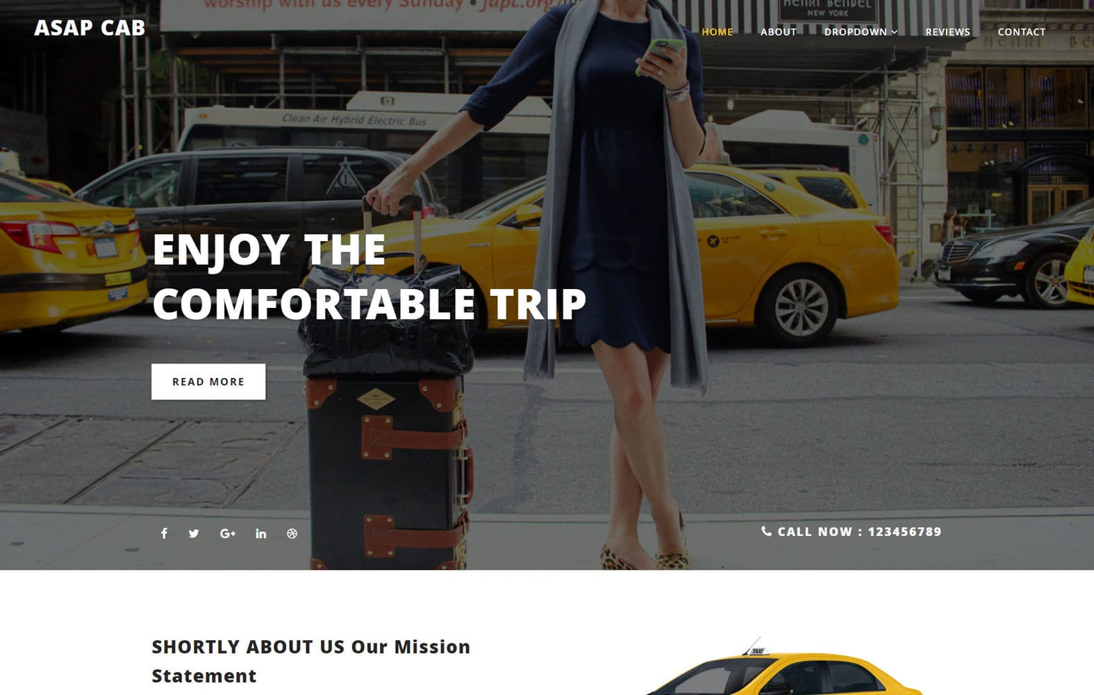 Asap Cab Auto Mobiles Category Bootstrap Responsive Web Template Mobile website template Free