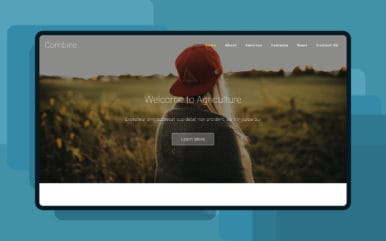 Combine – Agriculture Category Bootstrap Responsive Web Template
