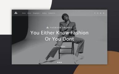 Fashion Trendz a Fashion Category Bootstrap Responsive Web Template