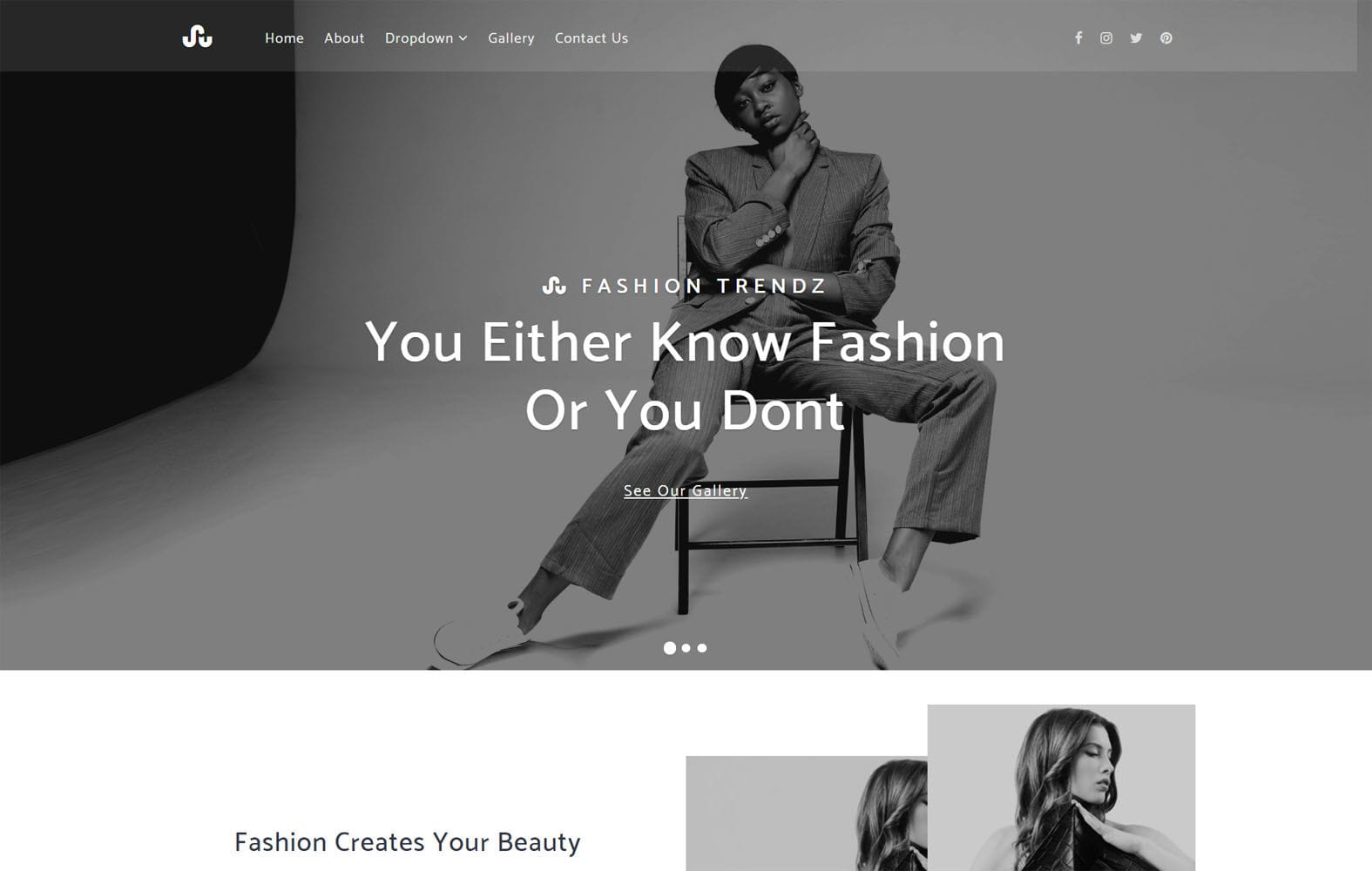Fashion Trendz a Fashion Category Bootstrap Responsive Web Template Mobile website template Free
