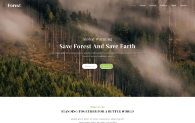 Forest a Society Category Bootstrap Responsive Web Template