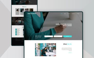 Indoctrination an Education Category Bootstrap Responsive Web Template
