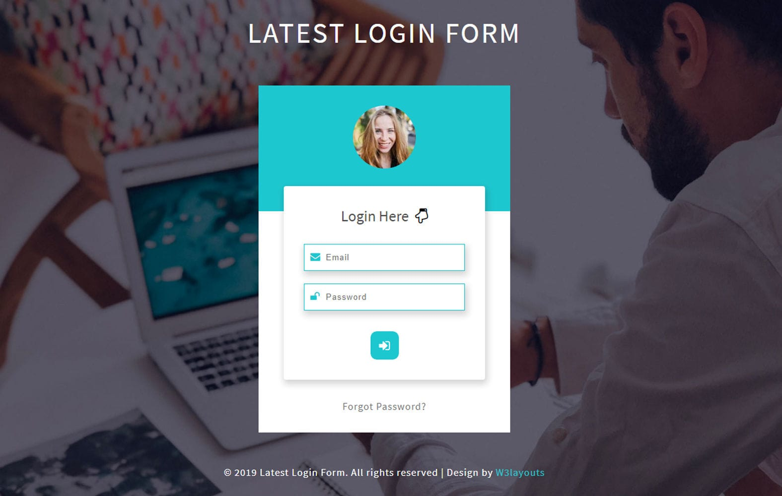 Latest Login Form Responsive Widget Template Mobile website template Free